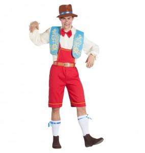 Travestimento Burattino Pinocchio adulti per una serata in maschera