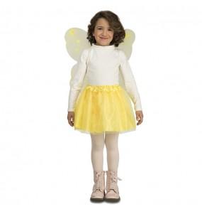 Travestimento Farfalla gialla bambina che più li piace