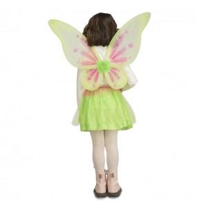 Travestimento Farfalla verde bambina che più li piace