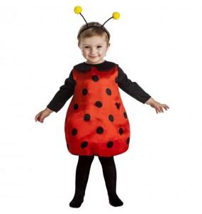 Costume da Coccinella divertente per bambina