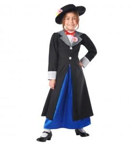 Costume da Mary Poppins Deluxe per bambina