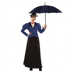 Costume da Mary Poppins Vittoriana per donna