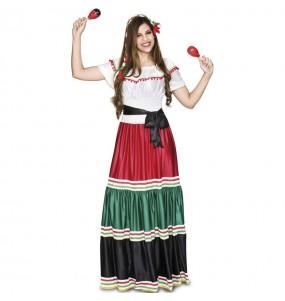 Costume da Messicana tradizionale per donna