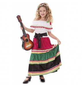 Costume da Messicana tradizionale per bambina