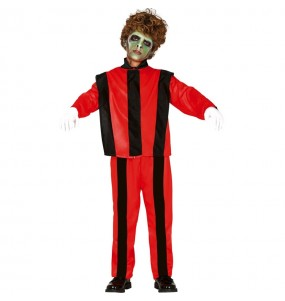 Travestimento Michael Jackson thriller bambini per una festa ad Halloween