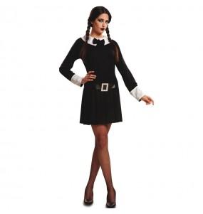 Costume da Mercoledì Addams sinistra per donna