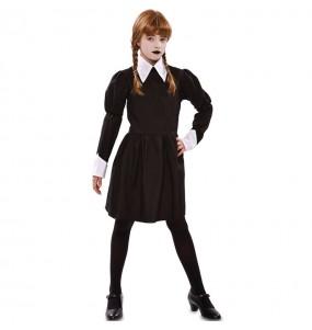 Costume da Mercoledì Addams sinistra per bambina