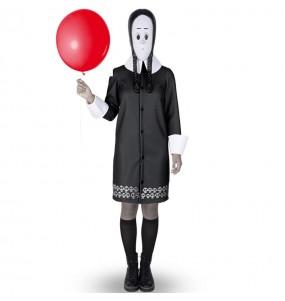 Costume Mercoledì Famiglia Addams donna per una serata ad Halloween