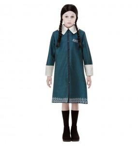 Costume da Mercoledì Famiglia Addams per bambina