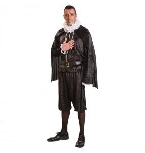 Travestimento Miguel de Cervantes adulti per una serata in maschera