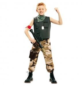 Travestimento Soldato delle Forze Speciali bambino che più li piace