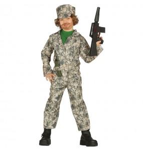 Travestimento militare bambino che più li piace