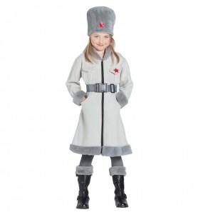 Travestimento Militare Russa Sovietica bambina che più li piace