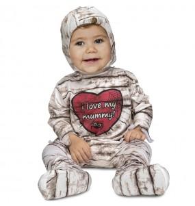 Travestimento Mummia neonati con il quale il tuo bambino farà paura