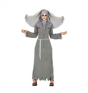 Costume Suora horror donna per una serata ad Halloween