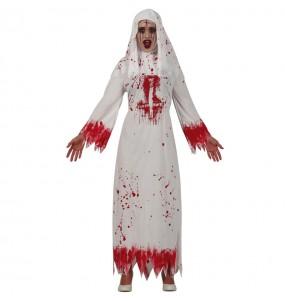 Costume da Suora satanica per donna