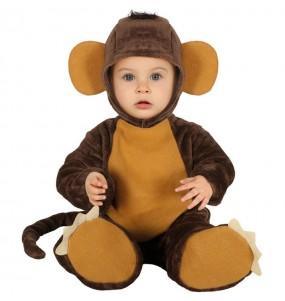 Travestimento Scimmietta neonato che più li piace