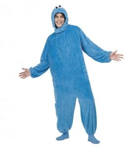 Travestimento Cookie Monster Sesamo apriti adulti per una serata in maschera