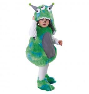Costume da Mostro verde per neonato