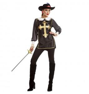 Costume da Moschettiera dell'Ordine per donna