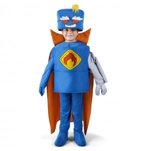 Costume Mr. King SuperZings per bambini