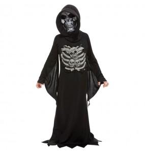Costume da morte scheletro per bambino