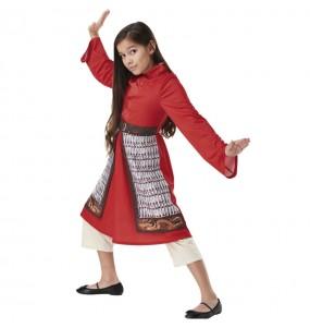 Costume da Mulan Live Action per bambina