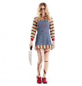 Costume da Chucky il pupazzo diabolico per donna