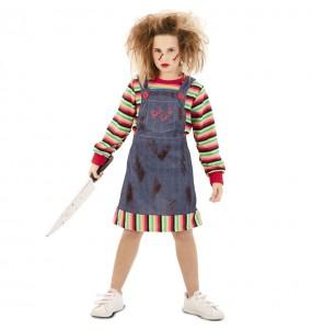 Costume da Chucky il pupazzo diabolico per bambina