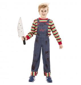 Travestimento Chucky il Pupazzo Diabolico bambini per una festa ad Halloween