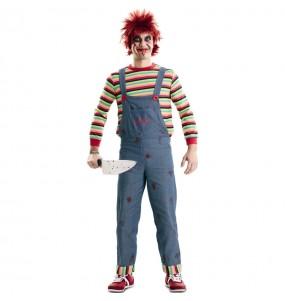 Travestimento Chucky il Pupazzo Diabolico adulti per una serata ad Halloween