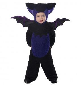 Costume da Pipistrello nero per neonato