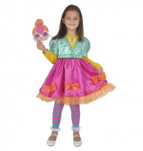 Costume da Neonlicious LOL Surprise per bambina