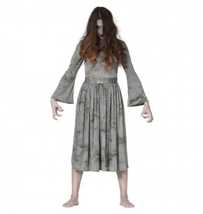 Costume Fantasma terrificante The Ring donna per una serata ad Halloween