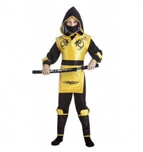 Travestimento Ninja Giallo bambino che più li piace