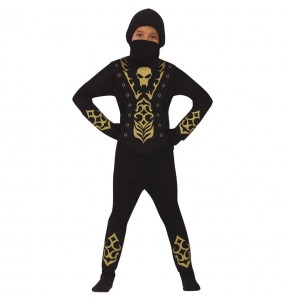 Costume da Ninja scheletro per bambino