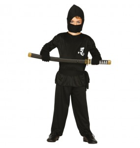 Costume da Ninja nero per bambino