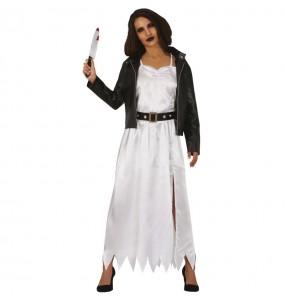 Costume da Sposa Chucky per donna