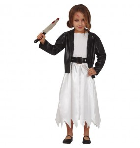 Costume da Sposa Chucky per bambina