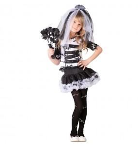 Costume da Sposa di Frankenstein per bambina