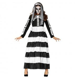 Costume Sposa delle tenebre donna per una serata ad Halloween