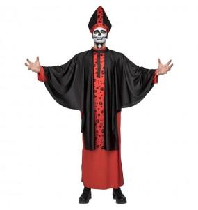 Travestimento Vescovo sinistro adulti per una serata ad Halloween