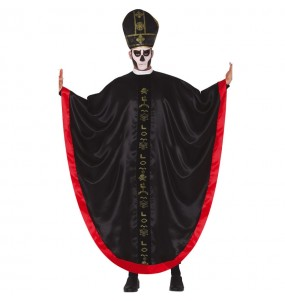 Costume da Vescovo zombie per uomo