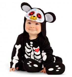 Costume da Orso giorno dei morti per neonato