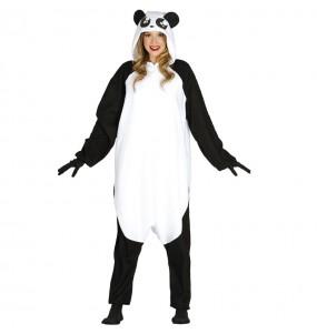 Travestimento Giapponese Orso Panda Kigurumi adulti per una serata in maschera