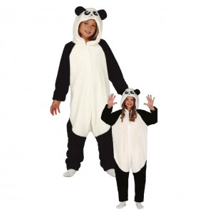 Travestimento giapponese Orso Panda Kigurumi bambino che più li piace