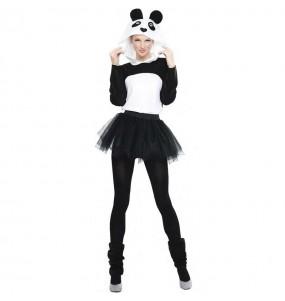 Costume da Panda con tutù per donna