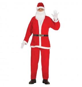 Travestimento Babbo Natale economico adulti per una serata di Natale