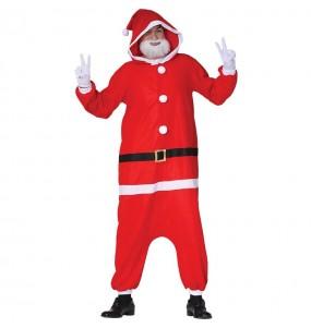 Travestimento Babbo Natale Kigurumi adulti per una serata di Natale