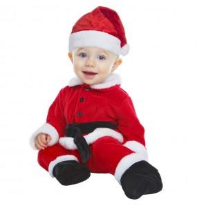 Travestimento Babbo Natale lusso neonato che più li piace